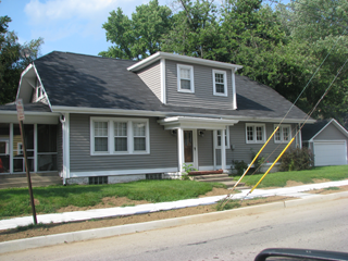 Siding Installation Example Fourteen - Indianapolis Client