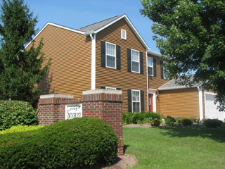 Siding Installation Example Three - Indianapolis Client