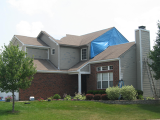 Siding Installation Example Four Installation Example - Indianapolis Client